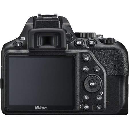 Nikon D3400 DSLR Camera (Black) Bundle with AF-P DX 18-55mm f/3.5-5.6G VR Lens, Nikon AF-P DX NIKKOR 70-300mm f/4.5-6.3G ED Lens, Carrying Case and Accessory Kit (31 Items)