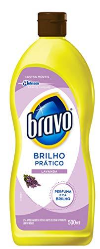 Lustra Móvel Brilho Prático Lavanda 500 ml, Bravo