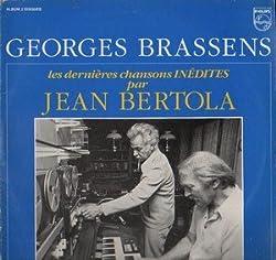 LES DERNIERES CHANSONS INEDITES PAR JEAN BERTOLA (double vinyle 33 tours)