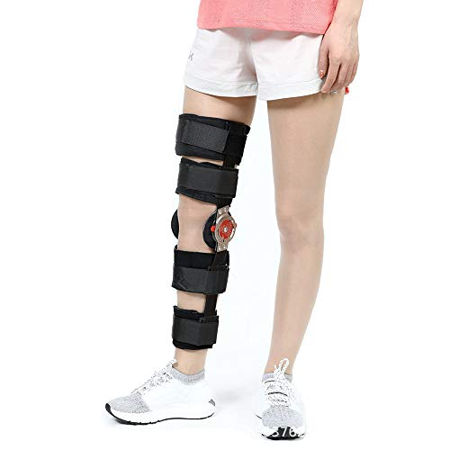 Rodillera Ortopedica Articulada, Rodillera Rotuliana Regulable, Patella Abierta para Artritis/LCA/Lágrimas de menisco/Lesiones Deportivas/Caminar Corriendo,S