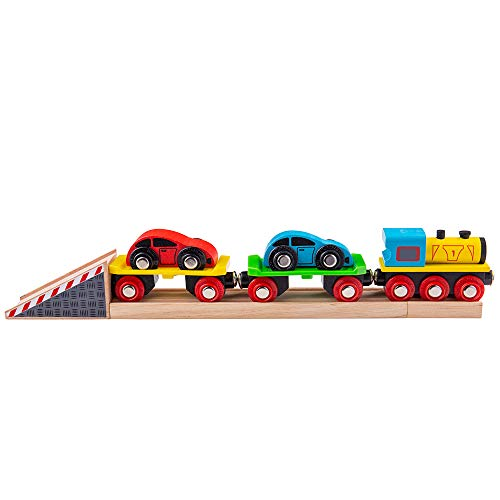 Bigjigs Rail Train de Voitures
