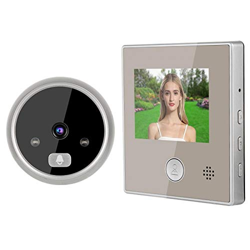 Video Intercom Doorbell 3 inch LCD Low Power Consumption 32G Storge
