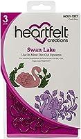 """Heartfelt Creations Cut & Emboss Dies-Swan Lake, 1.25"""" To 4"""""""