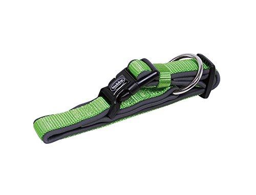 Nobby, Classic Preno, Hundehalsband, neon grün/grau, L-XL
