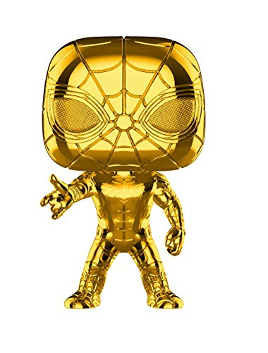 Pop! Bobble: Marvel: Marvel Studios 10: Iron Spider (Chrome