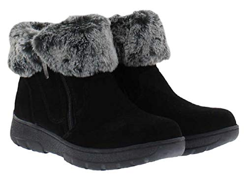 Khombu Ladies Jessica All Weather Bootie (10, Black)