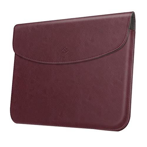 Fintie Sleeve Tasche Hülle für Microsoft Surface Go 2 2020/ Surface Go 2018 10 Zoll Tablet - Hochwertige Schutztasche Schutz Cover aus Kunstleder (Type Cover kompatibel), Bordeaux