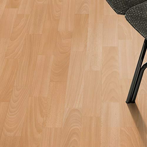 PVC Bodenbelag Schiffsboden Buche Tarkett 150 (9,90 € p. m²) (Muster DIN A4)