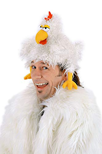 elope Chicken Clucker Costume Hat and Puppet White