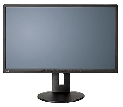Fujitsu Display B22-8 TS Pro 54.6cm 21, 5Zoll 1920 x 1080 FHD Resolution with High Pixel Density Displayport and DVI Interfaces