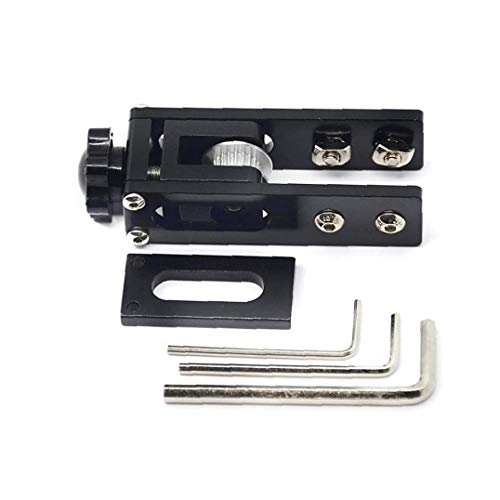 NaiCasy X-axis Synchronous Belt Tensioner Stretch Straighten Aluminum 3D Printer Parts Compatible with Ender 3 CR-10