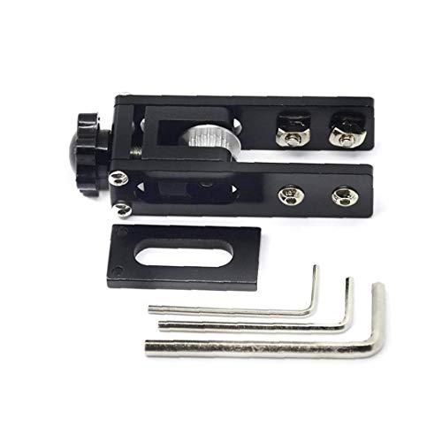 NaiCasy X-Assi sincroni Tendicinghia Stretch Raddrizza Alluminio 3D Parti della Stampante Compatibile con Ender 3 CR-10