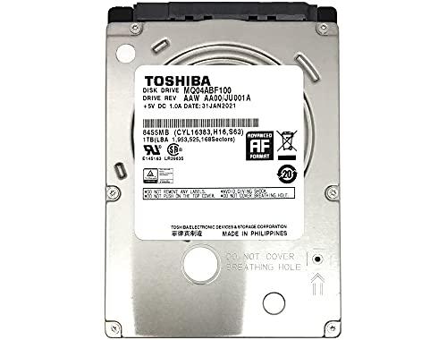 Toshiba (MQ04ABF100) 1TB 5400RPM 128MB Cache SATA 6Gb/s 2.5in Internal Gaming PS3/PS4 Hard Drive - 3 Year Warranty