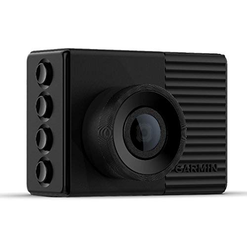 Garmin Dash Cam 56 GPS-Enabled with 2-inch Display, Voice Command, Wide 140-degree Field of View and Recording in 1440p HD Video
