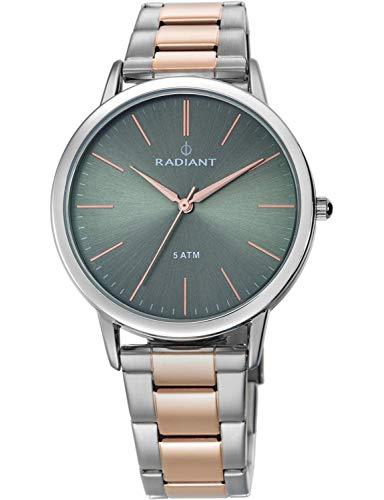 Radiant Reloj Analógico para Mujer de Cuarzo con Correa en Acero Inoxidable RA424205