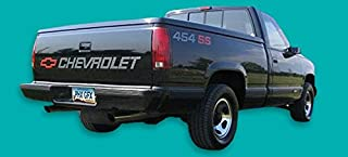 General Motors Chevrolet Chevy 454 Engine Size Vinyl Decal Car Stickers PAIR