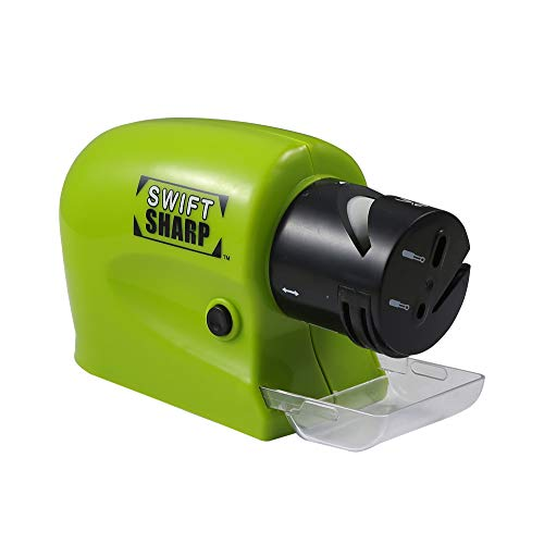Multifunction Electric knife Sharpener for Chef Knives,Screwdrivers and Household Tools (green)