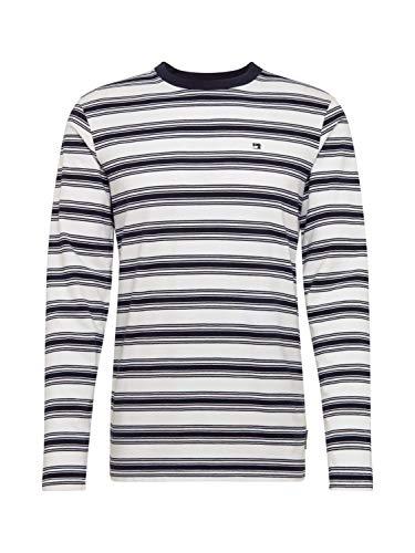 Scotch & Soda Herren Cotton/Elastane Longsleeve Tee Langarmshirt, Mehrfarbig (Combo H 0587), Medium (Herstellergröße: M)