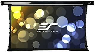 Elite Screens CineTension 2, 150-inch Diagonal 16:9, 4K/8K Tab-Tensioned Electric Drop Down Projection Projector Screen, T...