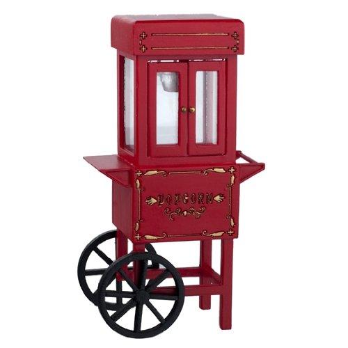 Sale!! Aztec Imports, Inc. Dollhouse Miniature Old-Fashioned Popcorn Machine
