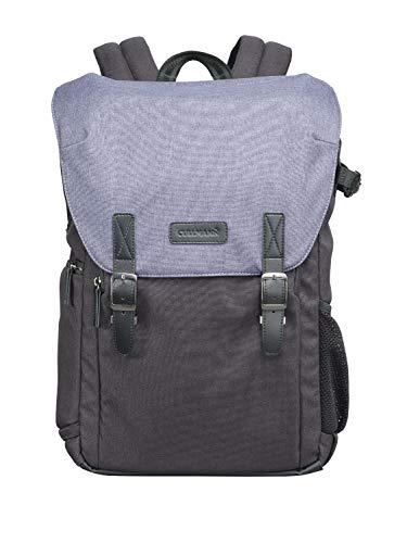 Cullmann Bristol Daypack 600+ - Mochila para cámara con Compartimento para Ordenador portátil, Color Azul