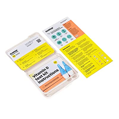 d.velop Vitamin D Test Kit, 2-Pack - Accurately Track Your Vitamin D Levels – Vitamin D Home Test, Includes Step-by-Step Instructions – Scientifically Validated, Fast Results – Track with Online App by Omegaquant