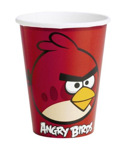 Gobelets en carton Angry Birds