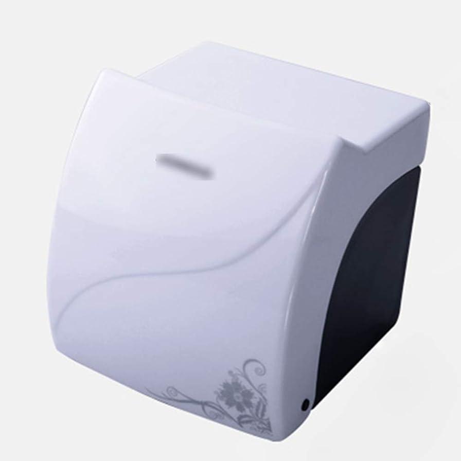 水差しリブズボンZZLX 紙タオルホルダー、高品質ABS防水ティッシュボックストイレットペーパーボックスペーパーホルダー ロングハンドル風呂ブラシ