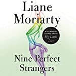 Nine Perfect Strangers audiobook cover art