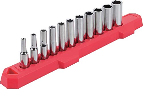 CRAFTSMAN Socket Set, Metric, 1/4-Inch Drive, 6-Point, 11-Piece (CMMT12051)