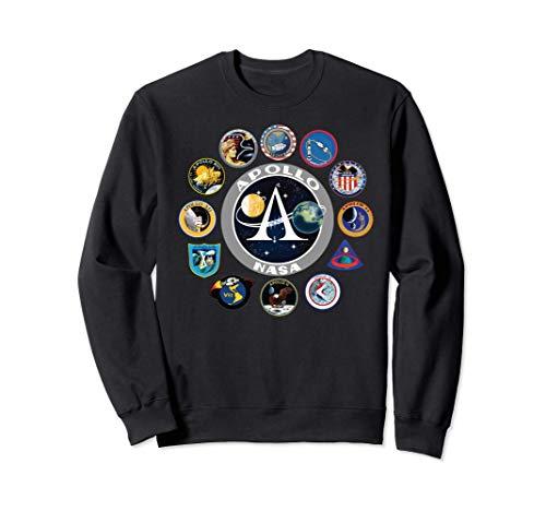 NASA Apollo Missions Sudadera