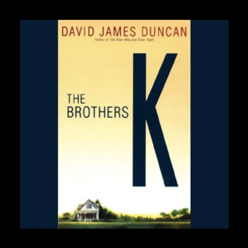The Brothers K  audiobook cover art