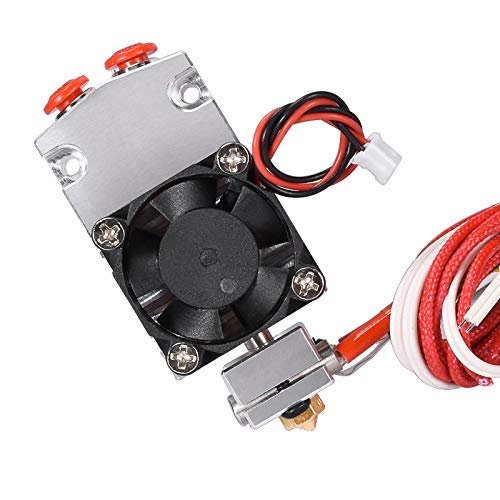 3D Printer Part 12v/24v Cyclops and Chimera Extruder 2 in 1 Out Hotend Bowden with Titan/Bulldog Extruder 3D Printing Accessories (Size : 12V) (Size : 24V)