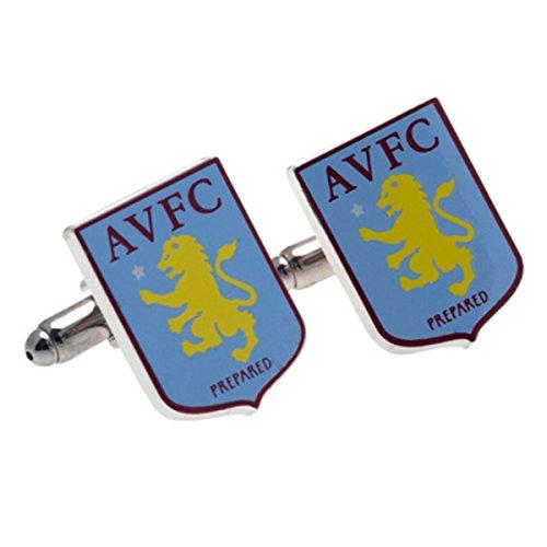 Boutons de manchette équipe de football Aston Villa FC - aussi disponible pour d'autres clubs