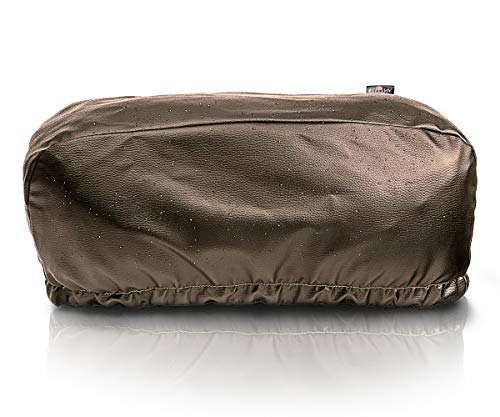 New EL JEFE Brown Winch Cover Dust-Proof, Waterproof, Winch Protection Cover W/Sewn-in Elastic Band ...