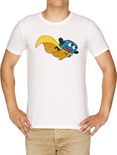 Valiente Pequeño Tostadora - Volar Lejos Camiseta Hombre Blanco