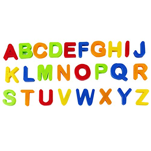 Brave669 Educational & Puzzle Toys for Kids, Multicolor Magnetic Numbers Alphabet Fridge Magnet Learning Education Kids Toy, Best Gift for Kids