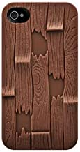 SwitchEasy SW-PLA4S-BR Avant-garde Hard Case for iPhone 4 & 4S - 1 Pack - Case - Retail Packaging - Plank - Brown