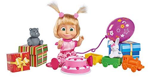 Simba 109301014 Masha - Juego de cumpleaños