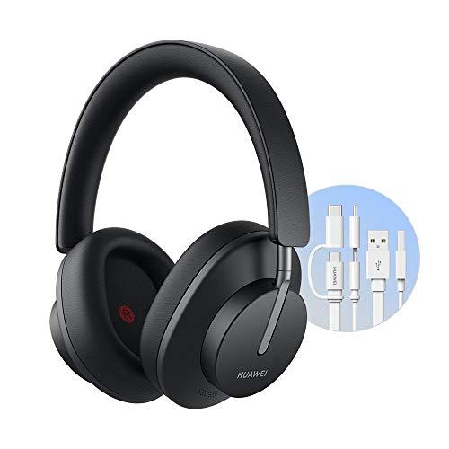 Huawei FreeBuds Studio Wireless-Kopfhörer, dynamische und intelligente Rauschunterdrückung und Hörmodus, doppelte Antenne, schnelles Aufladen, Blush Gold