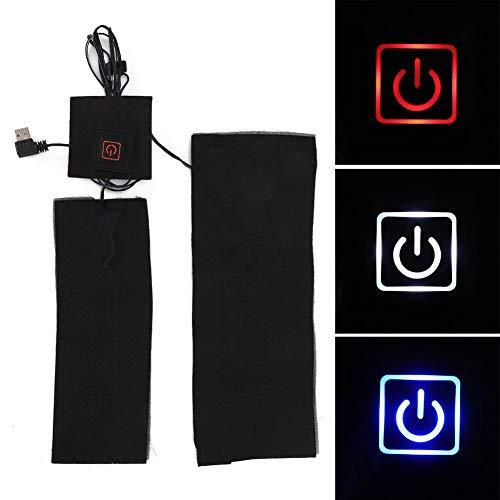 Heizmatte, Verbundfaser USB Wasserdicht Flexibel Wasserdicht Heizkissen Mit 3 Modi Temperaturregelung, Geeignet Für Weste Jacke Decke