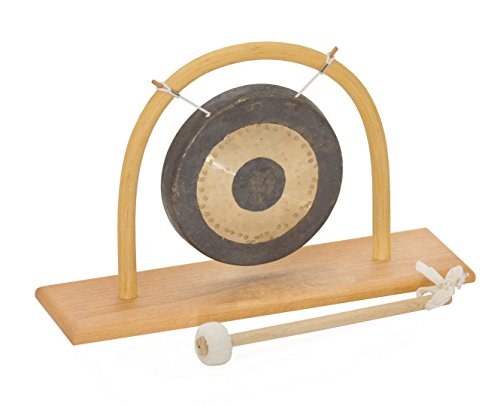 Chao (Tamtam) Gong T-15 + Rattan Ständer S-15