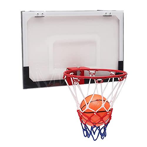 Jtoony Aro de baloncesto mini juego de baloncesto interior red aro con bomba de bola interior deportes juego mercancías baloncesto soporte