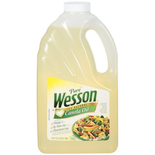 Pure 100% Natural Canola Oil 64 National Purchase uniform free shipping Wesson oz