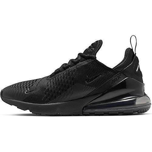 Nike Herren Air Max 270 Sneakers, Black Chrome Pure Platinum Anthracite, 44 EU