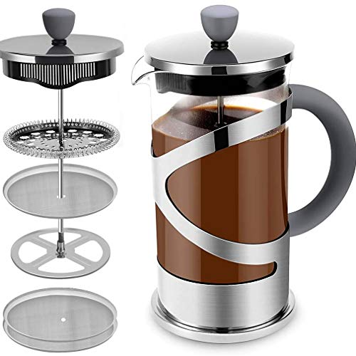 French Press - French Press Coffee Maker. French Press Stainless Steel...