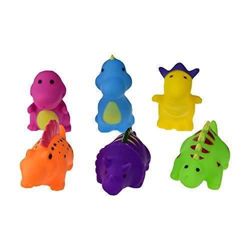 Rusisi Baby Bath Toy Organizer 6 Pcs of Scorpion Dinosaur Swimming Bath Squirting Water Children's Toys