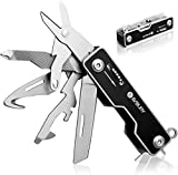 Bibury EDC Multitool, 10 in 1 Pocket Size EDC Key Ring Multi Tool