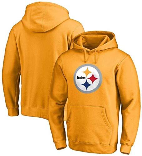 ZMHVOL Steelers Houdo Hodde Sudadera Fútbol Ropa de fútbol Pullover Tops de Manga Larga Tops Deportes Jersey WANGHN (Color : D, Size : XXL)