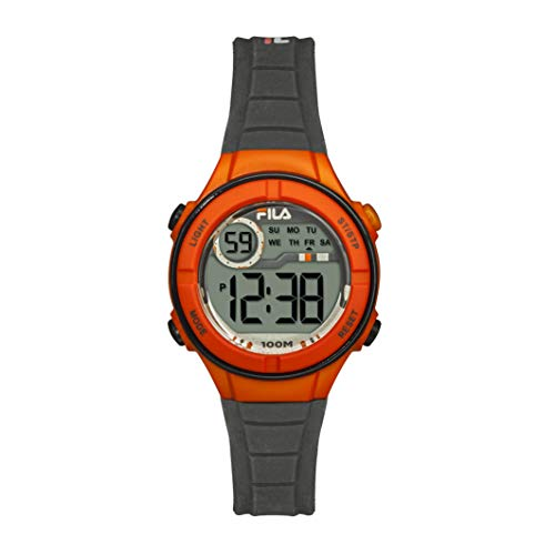FILA Reloj Digital para Unisex niños de Cuarzo con Correa e
